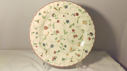 Staffordshire-Tableware-OAKWOOD-10-1-4-034-Dinner-Plate-s-In-Excellent-Condition 110 kr per stk