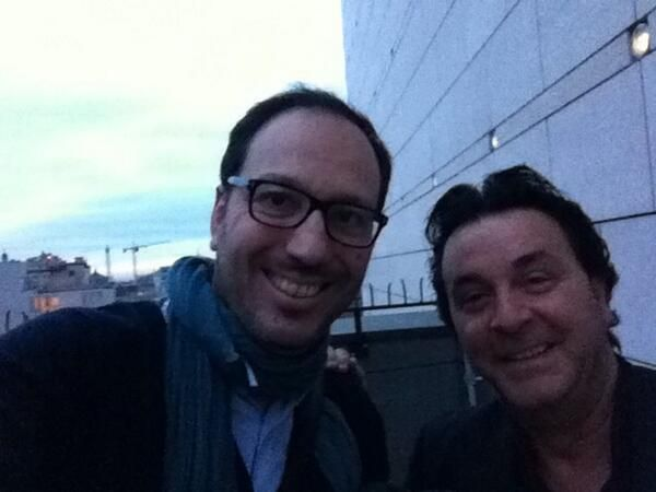 #musicstreets #GiuseppeCacciola Foto ricordo sulla terrazza che guarda Milano in vetta al @Teatro Boston alla Scala