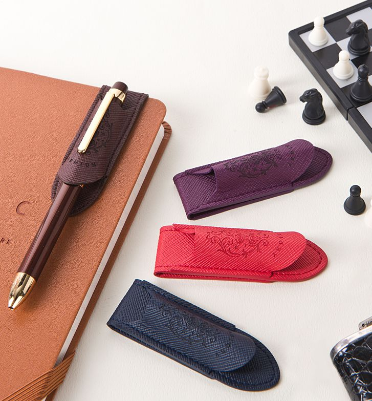 Classic Leather Pen Holder