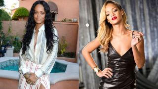 Chic Blonde Ambition; the best celebrities who pull off  platinum perfectly:Rihanna