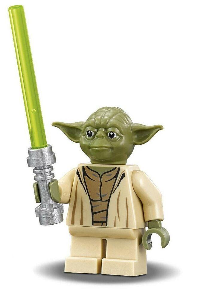LEGO Yoda Star Wars minifigure Yoda Chronicles Clone Wars 75017