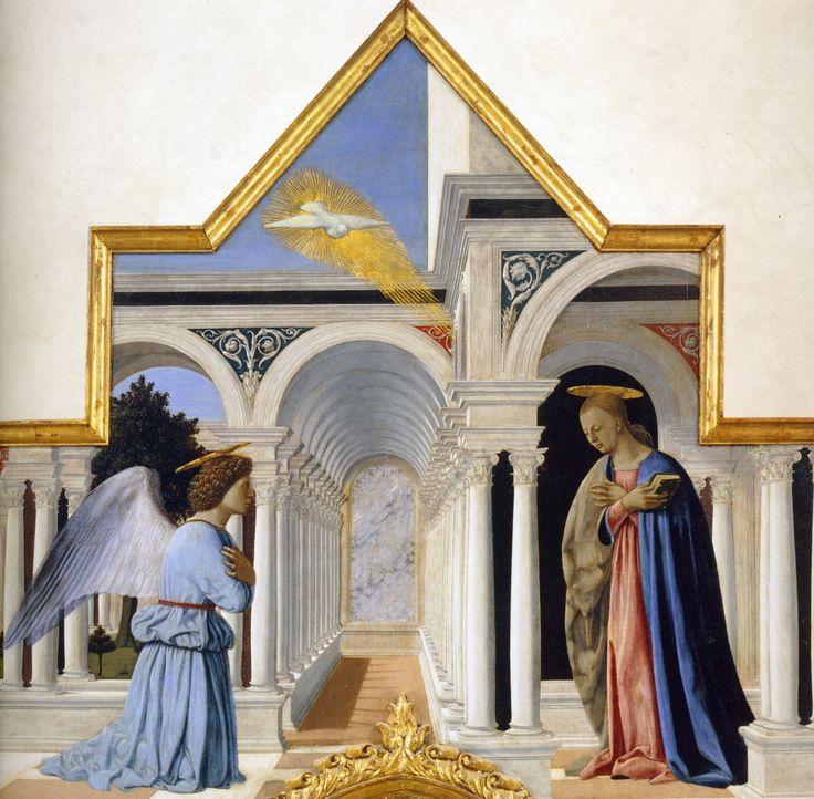 Cuspide del polittico di Sant'Antonio di Piero della Francesca, Galleria Nazionale dell'Umbria, Perugia