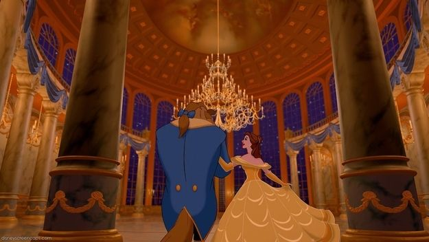 "Beauty and the Beast was the second Disney film produced (and ""first prestige film"") to use CAPS (Computer Animation Production System), a software developed for Disney by Pixar."