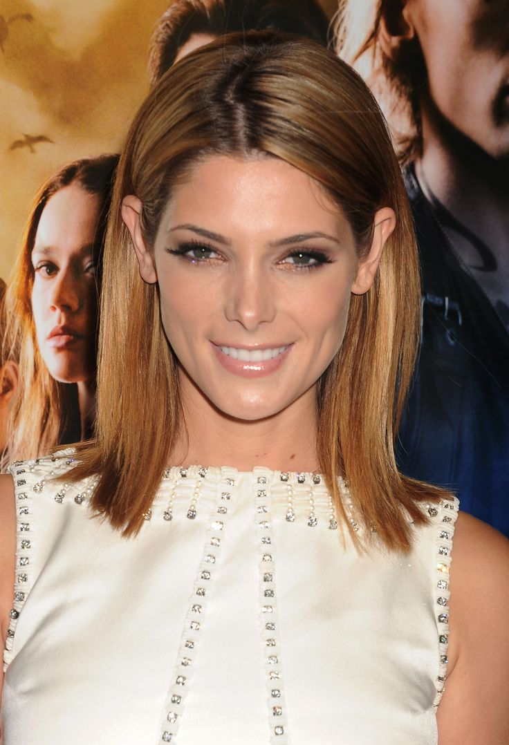How to apply blush if you have a diamond-shaped face // Ashley Greene