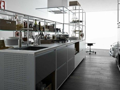 Meccanica by demode engineered by Valcucinehttp://www.archiproducts.com/en/news/39767/honourable-mention-23rd-adi-compasso-d-oro-for-meccanica-by-demode-engineered-by-valcucine.html