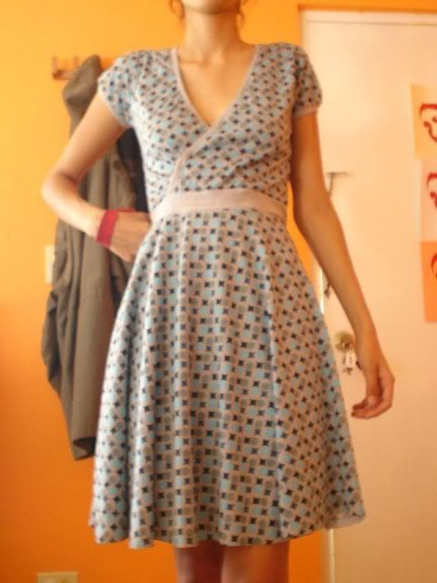 FREE Wrap Dress Sewing Pattern and Tutorial