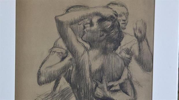 Francia restituyó un dibujo de Degas que había sido expropiado por los nazis – AB Magazine