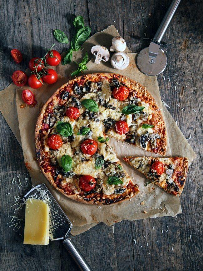 Pizzateig - Rezept mit Quark Öl Teig