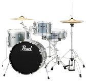 Pearl Drums - Roadshow 4-Piece Drum Set - Charcoal (Grey)