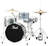 Pearl Drums - Roadshow 4-Piece Drum Set - Charcoal (Grey)