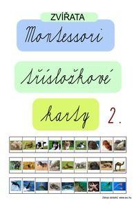 Magdalena Málková: Montessori třísložkové karty s texty II.