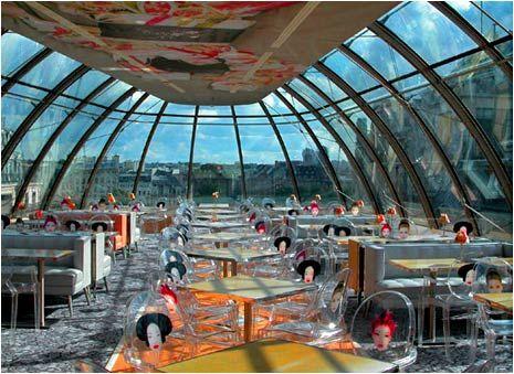 """Je ne souhaite pas faire une liste de tous les restaurants qui ont un coté """"design"""", mais faire part de certains qui ont réussis à affirmer ..."""