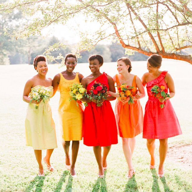 Bridesmaid Fashion Trends for in 2017 | SouthBound Bride