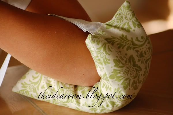 Hot/cold rice bag - wonderful gifts to make