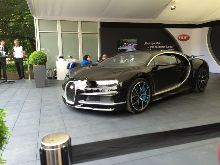 Bugatti Chiron, Goodwood Festival of Speed 2016
