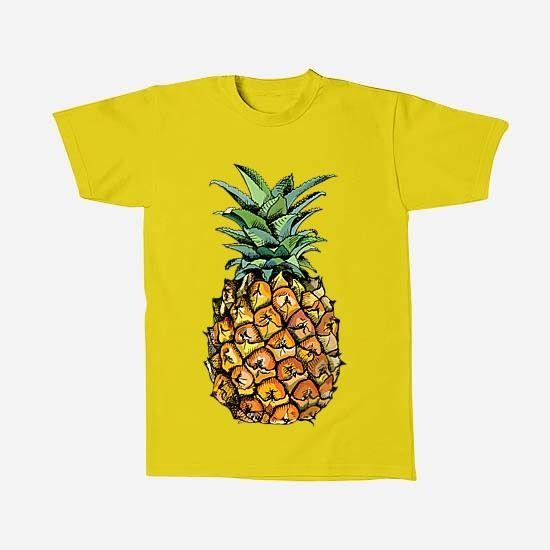 Kaos Pineapple via Tees Indonesia