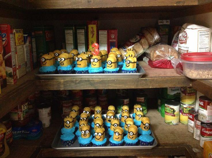 1000 Ideas About Minion Twinkie Cupcakes On Pinterest