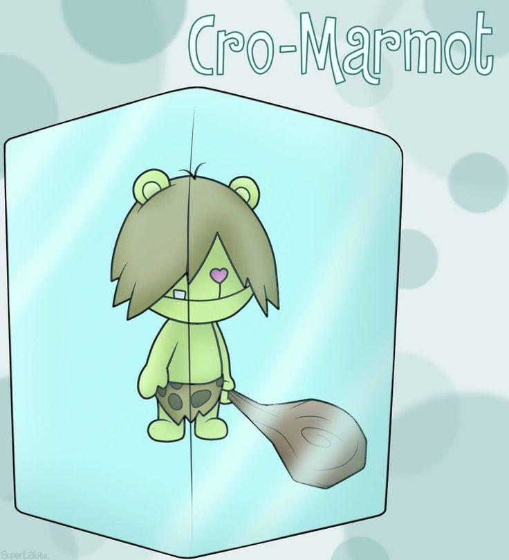 Happy Tree Friends: Cro-Marmot by SuperLakitu on DeviantArt