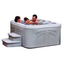 coleman 6person 30jet bench spa with easy plugnplay hot - Wayfair Hot Tub