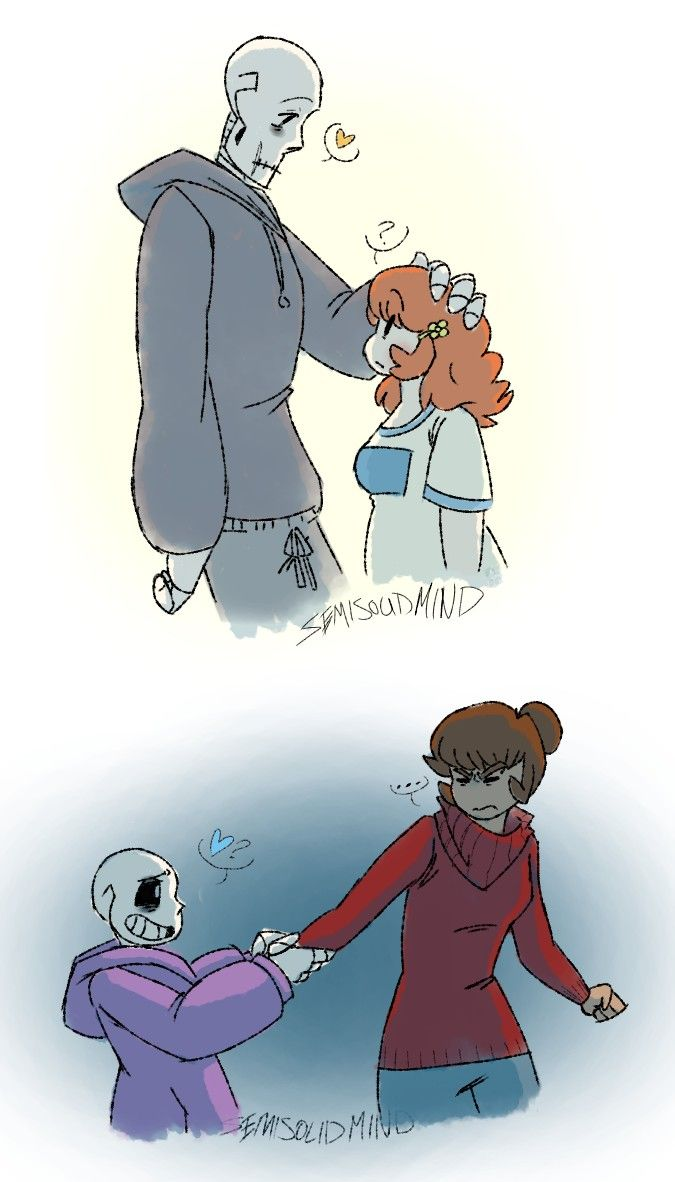 Undertale Frisk And Chara Sans And Asriel