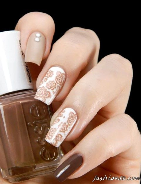 352 best nail stamping ideas images on pinterest nail stamping 150 latest nail art ideas for perfect summer 2016 2017 fashionte prinsesfo Image collections