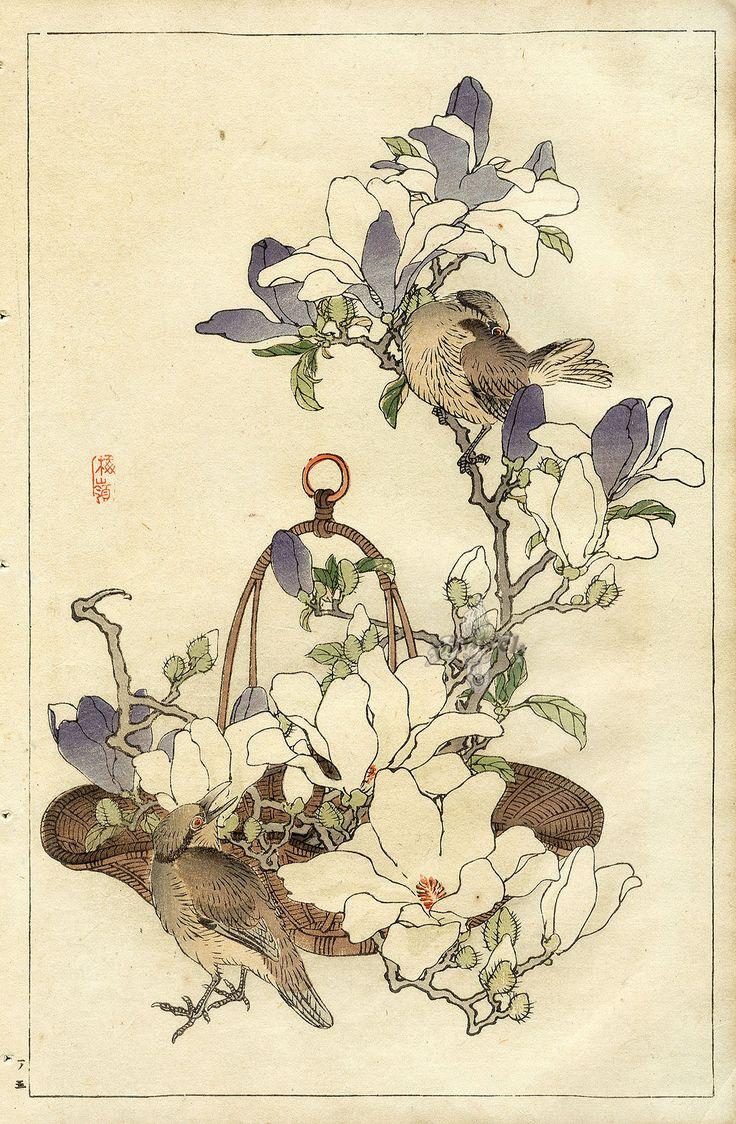 многие картинки для декупажа японские гравюры сложно