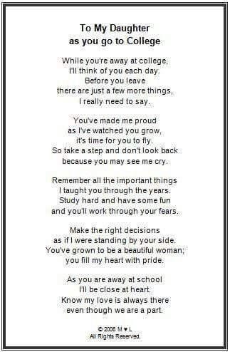 College | Graduation poems, Graduation quotes, College quotes
