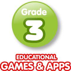 Elementary Computer Activities & Games & Apps - 3rd Grade: Levels Third, Grade Levels, Math Games, Activities Games, Education Games, Educational Games, Computers Activities, Elementary Computers, Language Arts