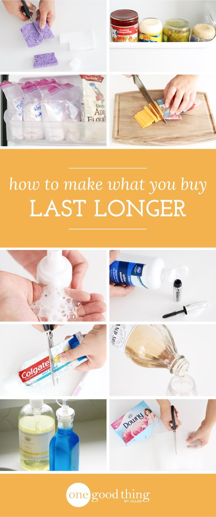 One of the best ways to save money on store-bought items is to find ways to make them last longer. Here are 16 frugal ways to extend the life of your stuff!