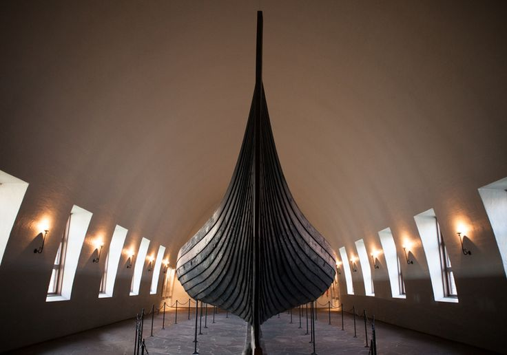 Oslo, Norway.  The Viking Ship Museum on Bygdøy.