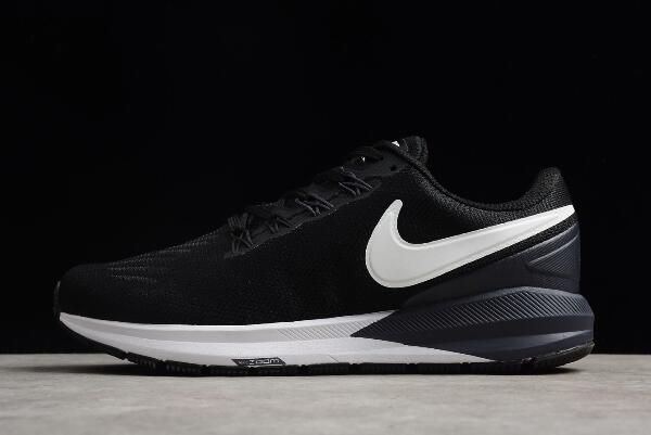 Nike Air Zoom Structure 22 Black White-Gridiron AA1636-002  d2050562d