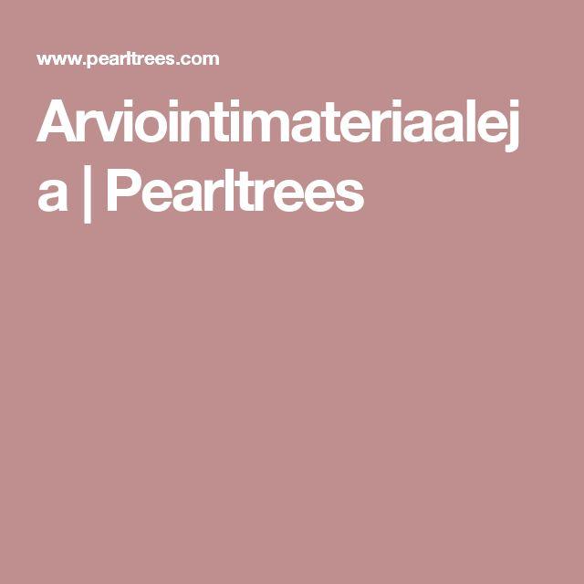 Arviointimateriaaleja   Pearltrees