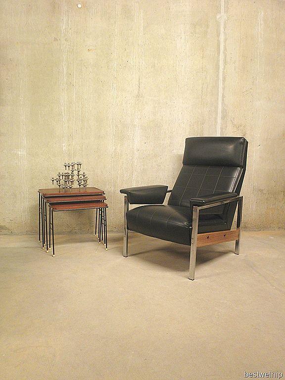 Rob Parry vintage design fauteuil Gelderland groep