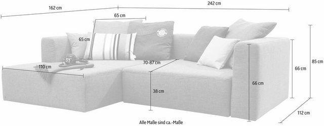 Ecksofa »HEAVEN CASUAL COLORS«, wahlweise mit Bettfunktion und Bettkasten   – Products