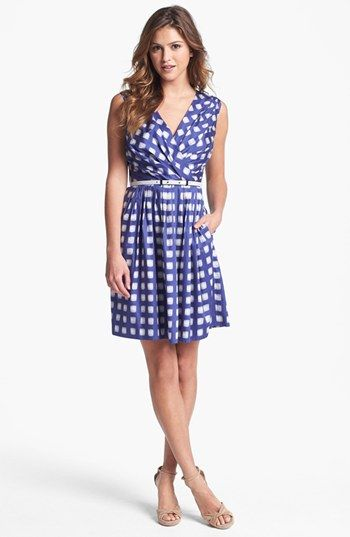 I'm thinking of this dress for the bridal shower...  :)  Ivy & Blu for Maggy Boutique Print Cotton Dress available at Nordstrom