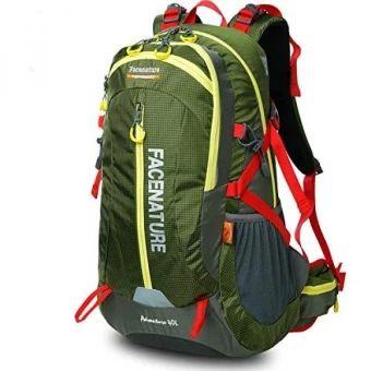 รีบเป็นเจ้าของ  Facenature Outdoor Sports Camping Hiking Climbing WaterproofInternal Frame Backpack Lightweight Travel Daypacks 40L 50LTrekking Packs with Rain Cover - intl  ราคาเพียง  6,481 บาท  เท่านั้น คุณสมบัติ มีดังนี้ Capacity of 40L and 50L, Size(40L):47cm (H)*22cm (L)*28cm(W)/18in(H)*8.5in(L)*11in(W);Size(50L): 56cm (H)*31cm (L)*26cm(W)/12in(H)*12in(L)*10in(W) Resin Mesh 3D suspension carrying system; water repellentsurface and come with a rain cover, double waterproof. Chest strap…