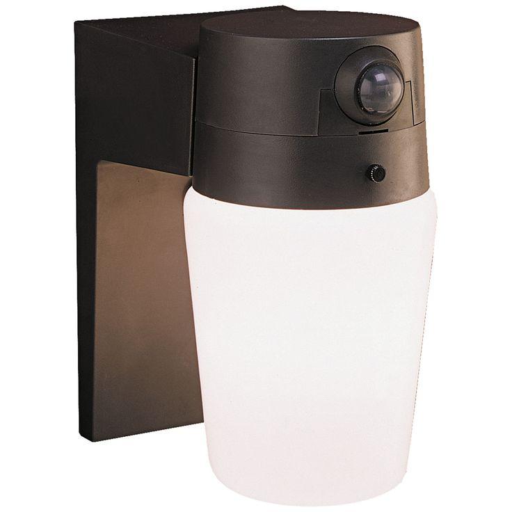 "Entryway Bronze 8 1/4"" High Motion Sensor Security Light - Style # 1X325"