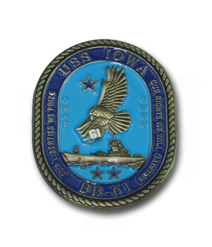 USS Iowa Online Store | USS Iowa Challenge Coin USS Iowa Online Store |