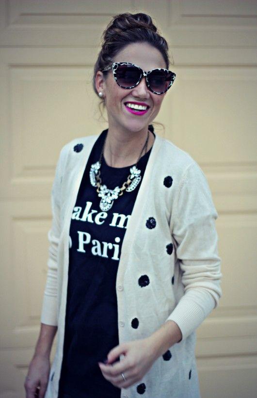 @Old Navy  Sequin Cardigan: Styled 2 Ways #layeredONstyle