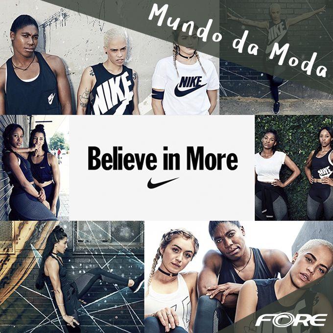 """Para celebrar a coleção """"Believe in More"""" (Acredite em Mais), lançada em parceria com a cantora FKA twigs, a Nike lançou uma série de vídeos quebrando tabus e falando sobre do as garotas realmente são feitas. Um em especial traz empoderamento às mulheres muçulmanas, mostrando que todo mundo pode acreditar em mais. GIRLPOWER!"""