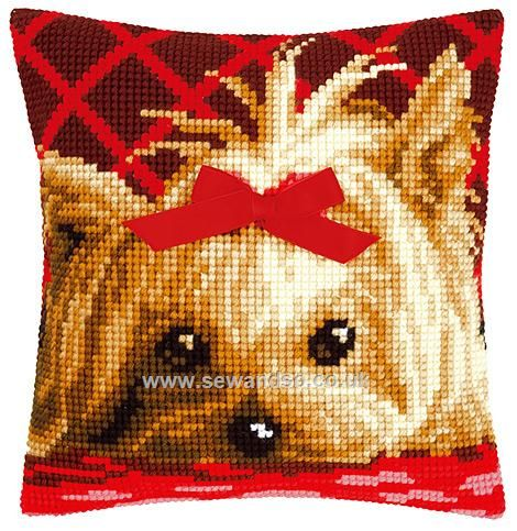 Buy+Yorkshire+with+Bow+Cushion+Front+Chunky+Cross+Stitch+Kit+Online+at+www.sewandso.co.uk