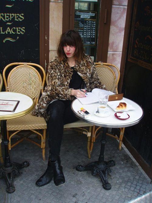 Lou Doillon, Paris.