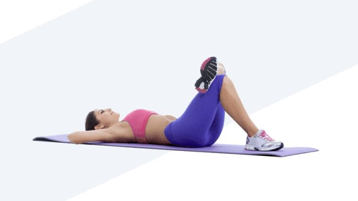 Image result for Elbow to Knee Crunch gif