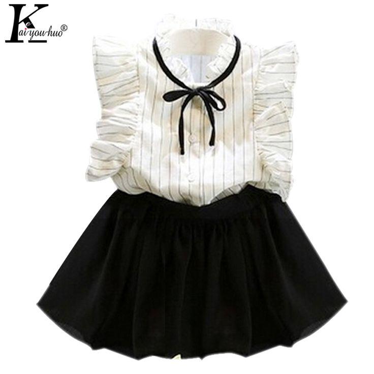 $5.17 (Buy here: https://alitems.com/g/1e8d114494ebda23ff8b16525dc3e8/?i=5&ulp=https%3A%2F%2Fwww.aliexpress.com%2Fitem%2FGirls-Clothes-Summer-Short-Sleeve-Stripe-Children-Clothing-Sets-Fashion-Girls-Outfit-Sport-Suit-Costume-For%2F32797400537.html ) Girls Clothes Summer Short Sleeve Stripe Children Clothing Sets Fashion Girls Outfit Sport Suit Costume For Kids Two Piece Suits for just $5.17