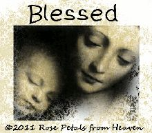 Rose Petals from Heaven: Free Blog Graphic