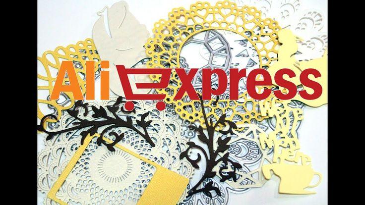 Скрап-покупки с AliExpress / Ножи для вырубки