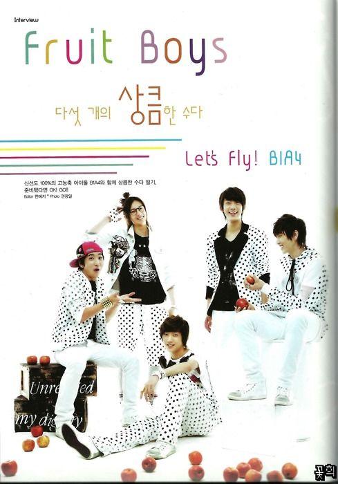 B1A4′s Junior Magazine Interview !