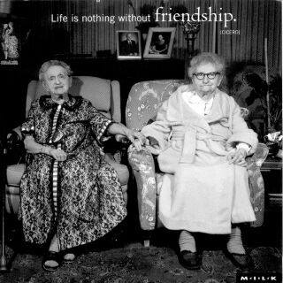 Vriendschappen zijn zo belangrijk heel je leven lang!