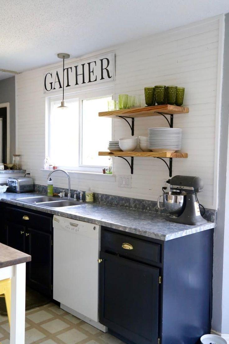 Faux Granite Countertop 10 Creative Diy Kitchen Countertop Ideas