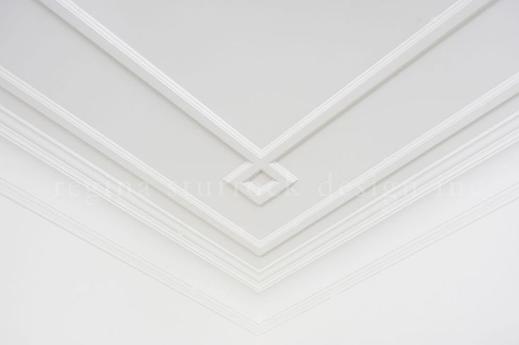 Custom ceiling detail Interior Design Project: Beyond the Blueprint | Regina Sturrock Design Inc
